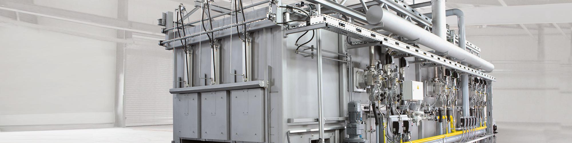 Wärmebehandlungsanlagen Aluminium